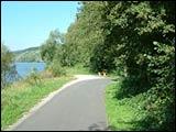 Rad- und Wanderweg rechtsmainisch, Richtung Gemünden